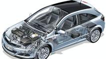 Astra Diesel Hybrid packaging study