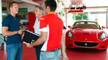 Schumacher Completes Ferrari California Development Testing