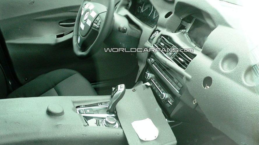2011 BMW 5 Series F10 Interior Caught in Latest Spy Photos