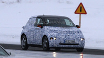 BMW i3 MegaCity vehicle first spy photos in Scandinavia