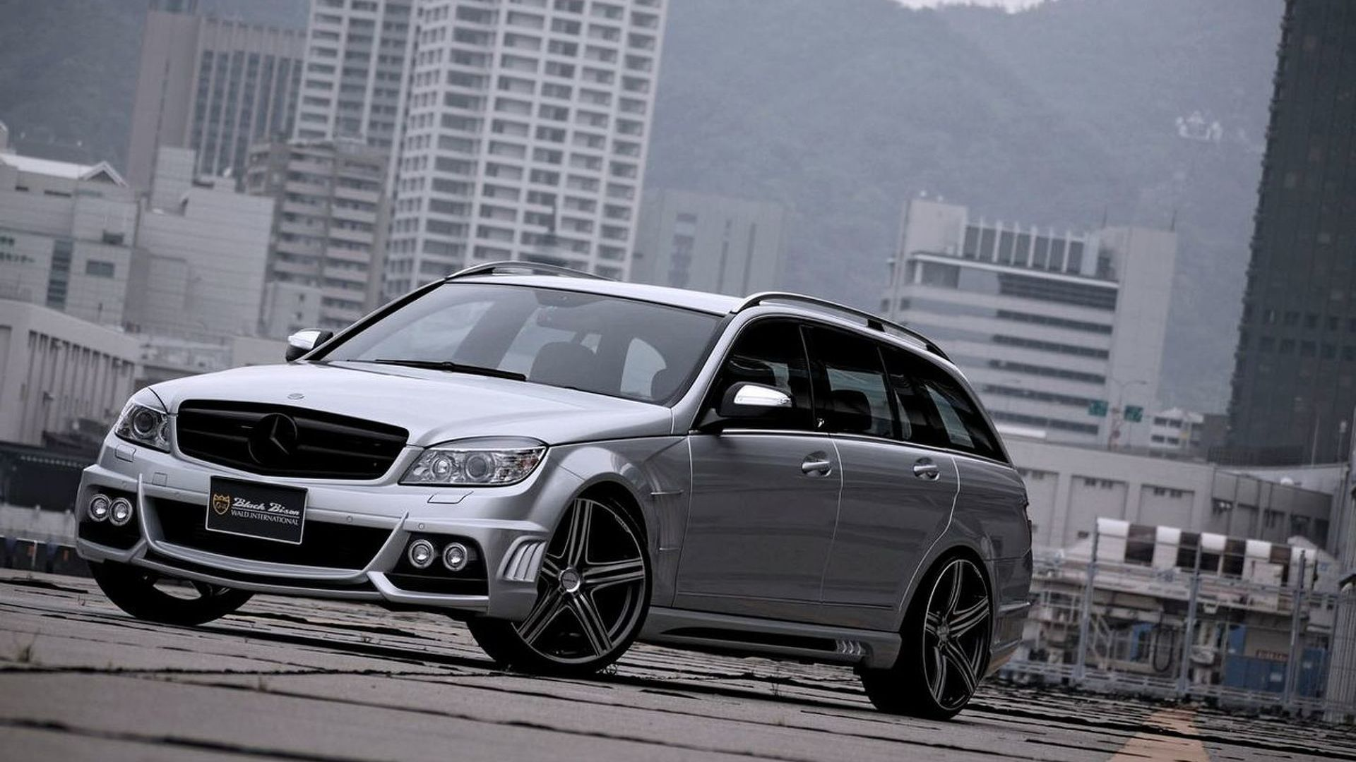 SPORTS LINE Black Bison Editions for Mercedes C Class Wagon amp R Class