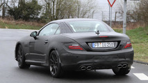 2012 Mercedes SLK63 AMG spied near the Nürburgring