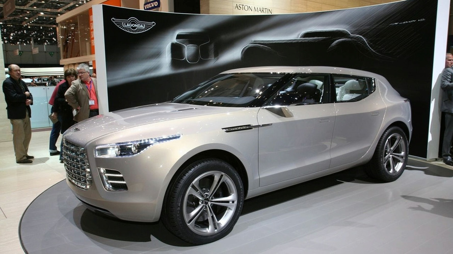 Aston Martin Lagonda SUV development indefinitely suspended