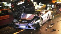 Italian Police Destroy Own Lamborghini Gallardo