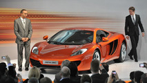 McLaren MP4-12C world public debut at Goodwood announced