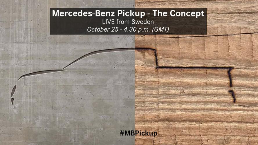 Mercedes-Benz pickup debut next week is still a concept