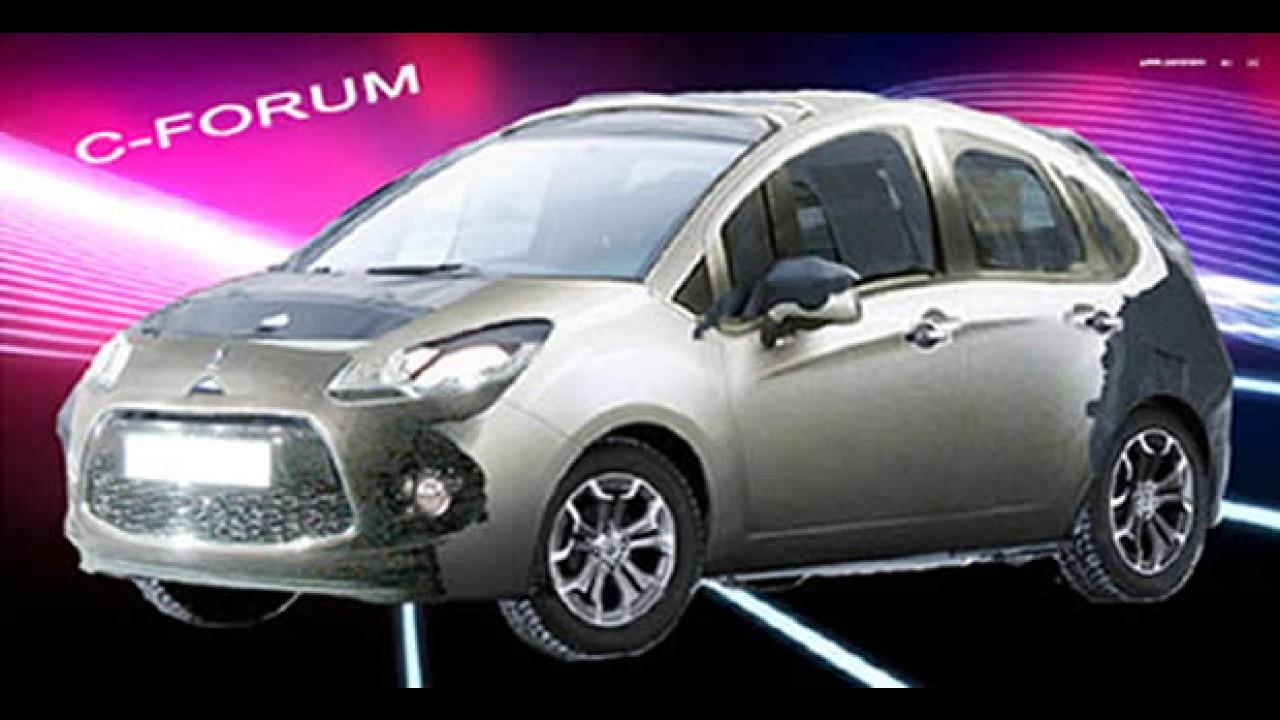 Novo Citroën C3 - Imagem que adiantamos da nova versão volta a circular como verdadeira
