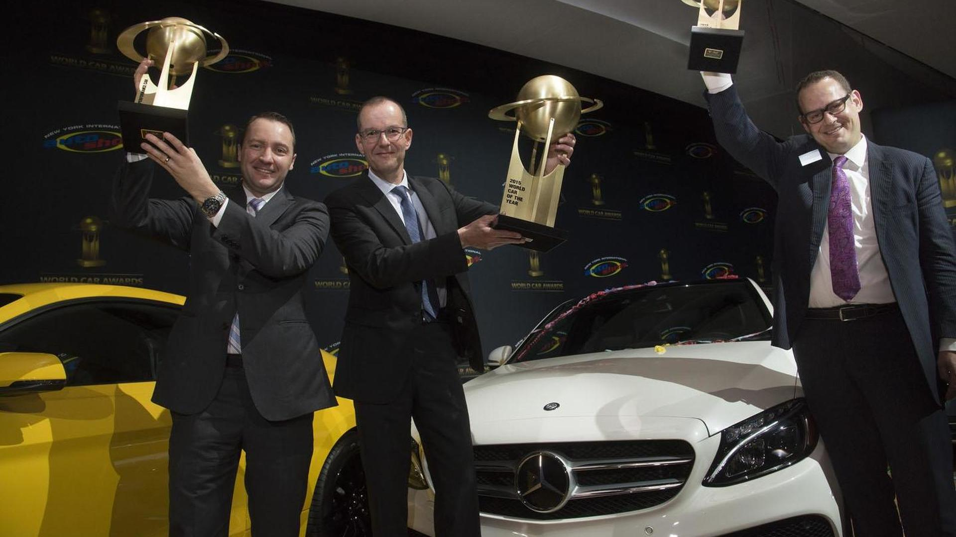 Mercedes dominates the World Car of the Year awards