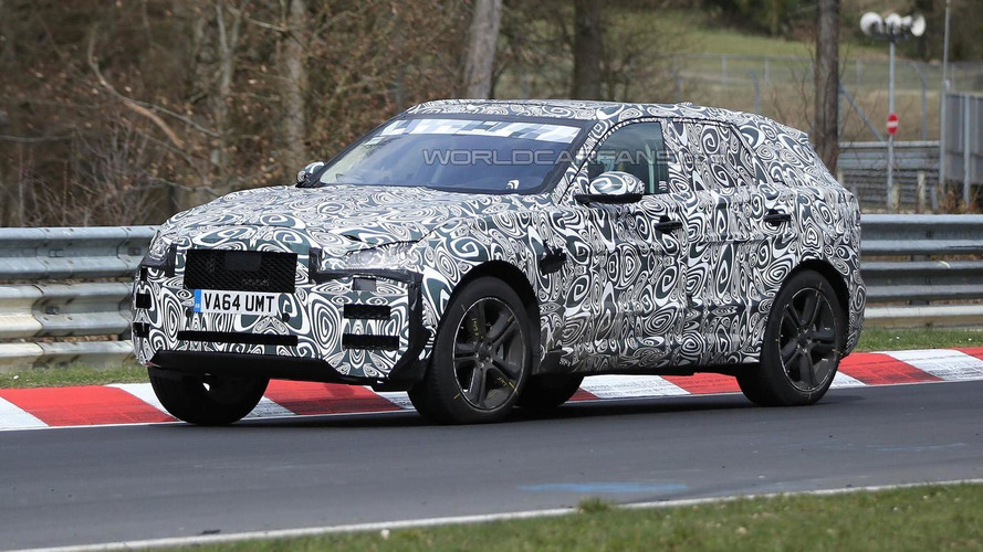 Jaguar F-Pace spied tackling the Nurburgring [video]