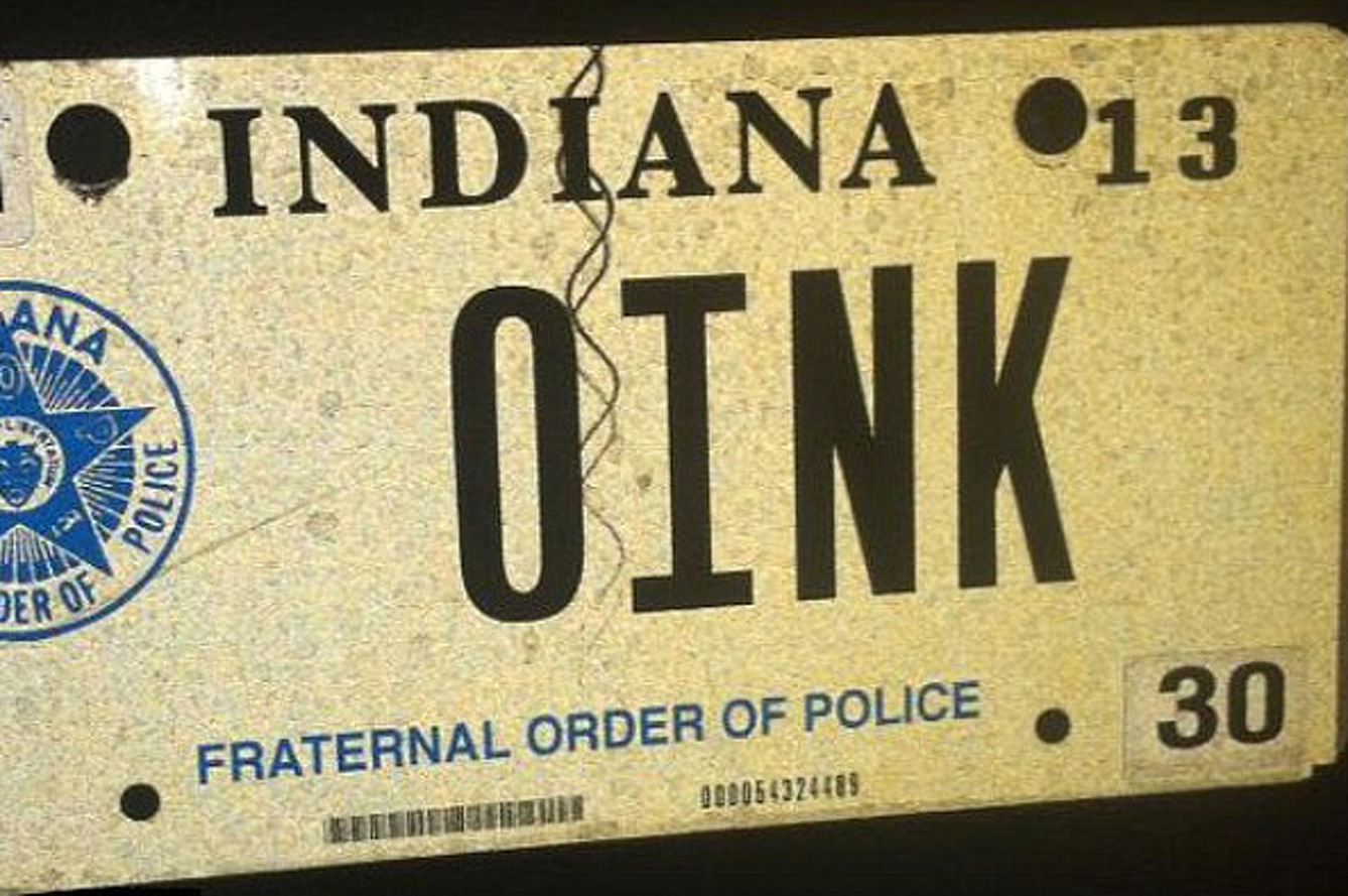 How States Decide if a Vanity Plate is 'Offensive'