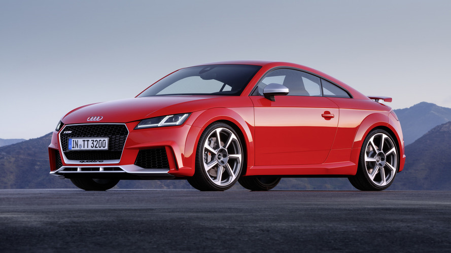 New Audi TT RS pricing starts at £51,800 in U.K.