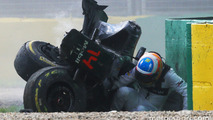 Alonso: Crash a good test case for Halo