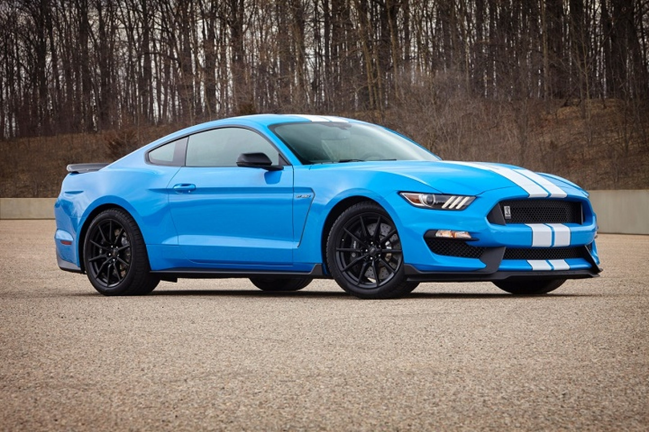 Ford Mustang Shelby GT350's New Colors Should Grab Your Attention