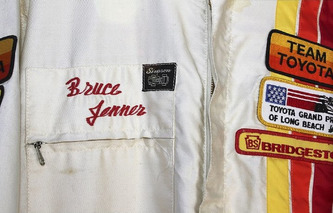 Caitlyn Jenner's 1982 Celebrity Racing Suit Up For Auction