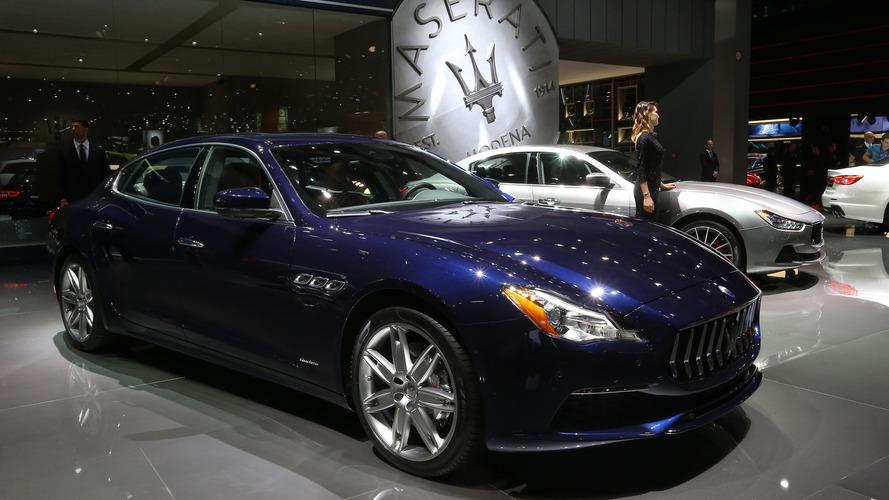 2016 Maserati Quattroporte Paris Motor Show