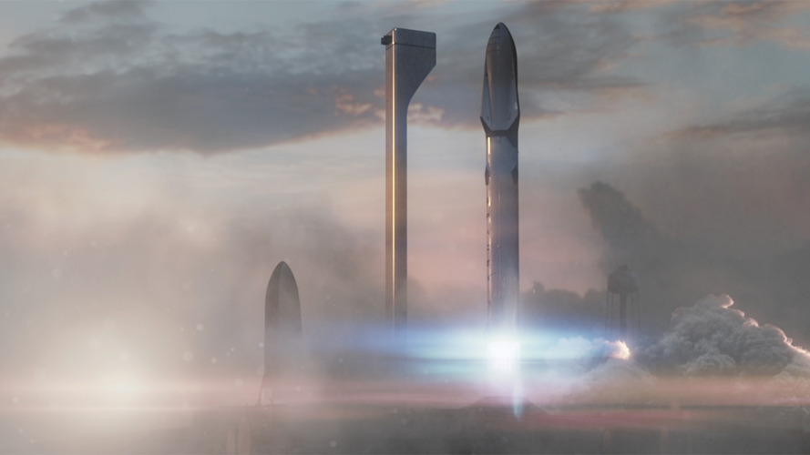 SpaceX previews Interplanetary Transport System for mission to Mars