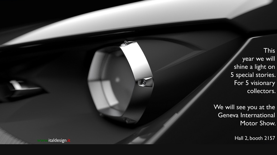 Italdesign shines light on Geneva-bound car with new teaser