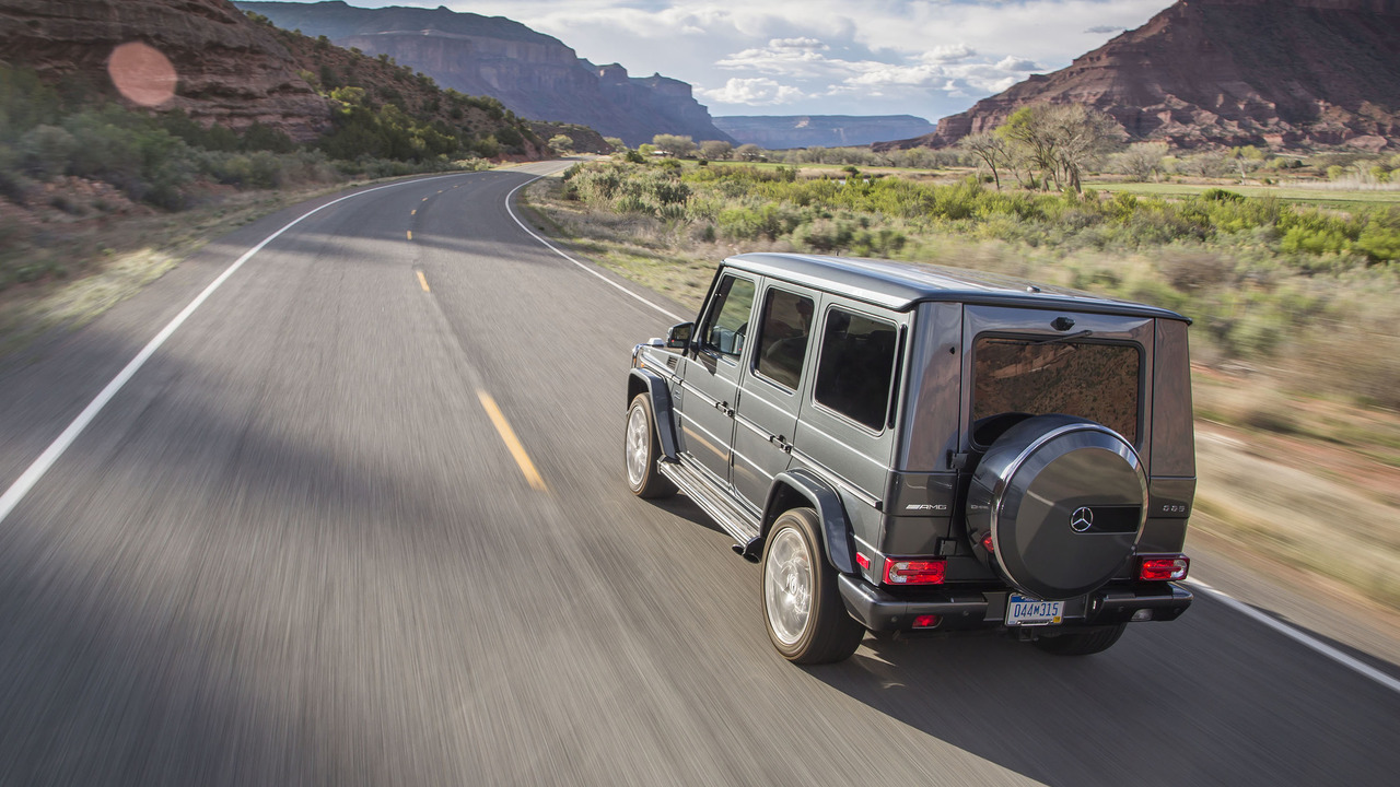 Review: 2016 Mercedes-AMG G65 | Motor1.com