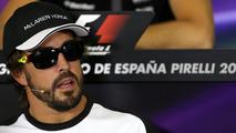 Alonso hits back after 'dark and moody' jibe