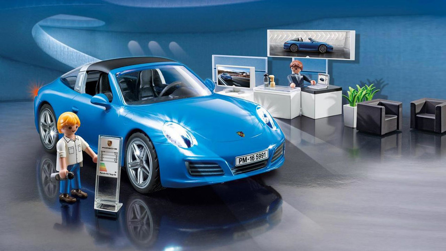 Porsche 911 Targa 4S by Playmobil shouldn't look this good