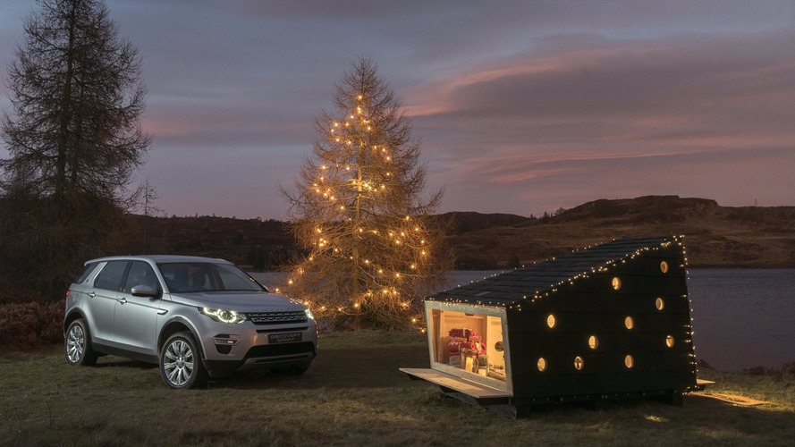 Land Rover wants to put Santa in box