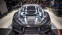 Lamborghini a produit 200 Huracan GT3 et Super Trofeo en deux ans