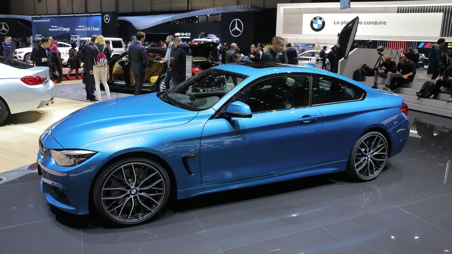 2017 BMW 4 Series facelift arrives in Geneva with discreet update