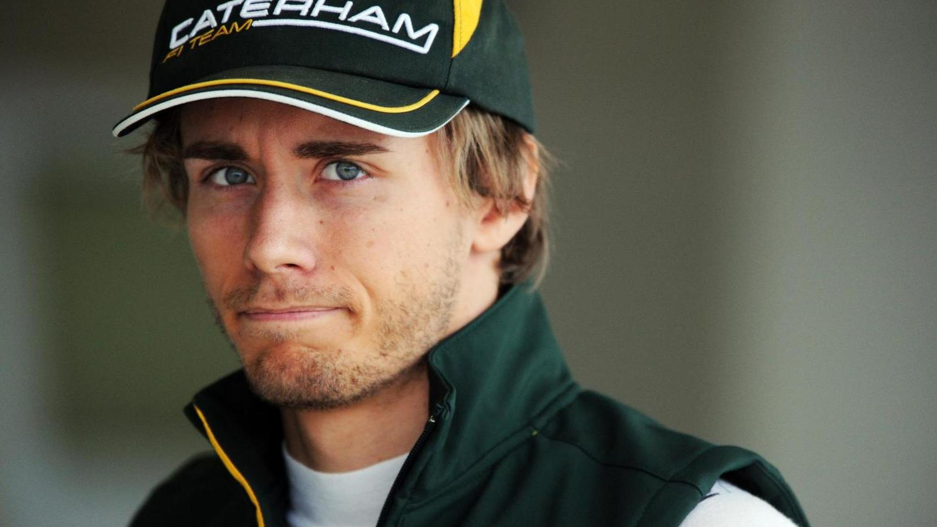 Pic working with Craig Pollock, loses Caterham seat