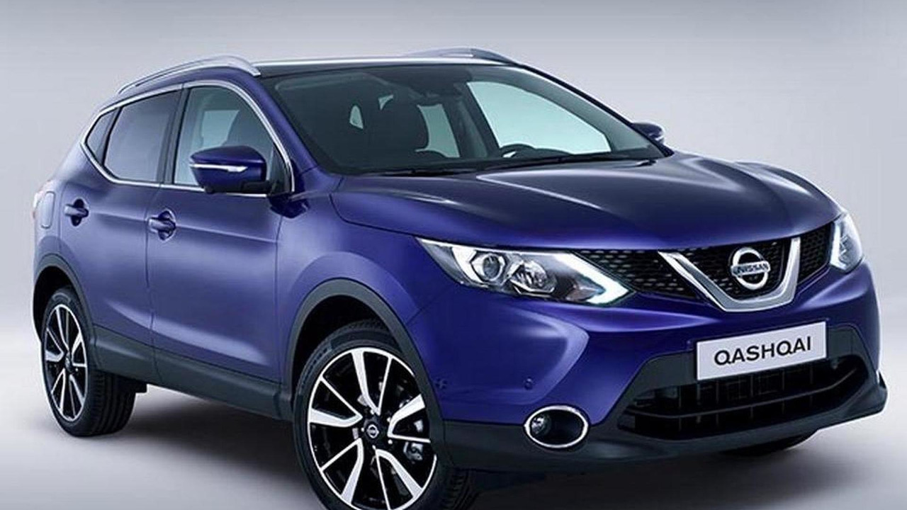 2014 Nissan Qashqai leaked photo 07.11.2013