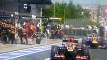 No helmet rule for F1 pitlane media - FOM