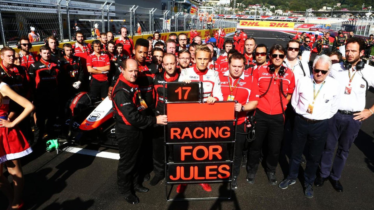 Supporting poster for Jules Bianchi on the grid / XPB