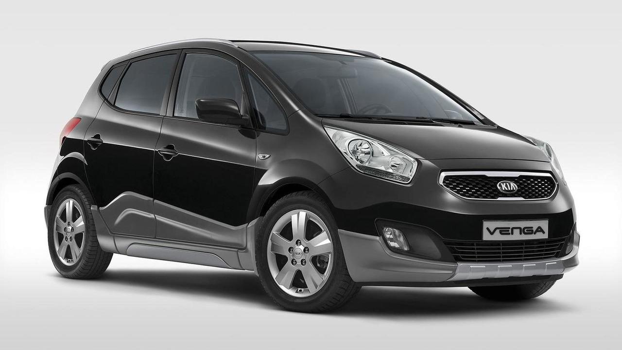 Kia Venga Crossover limited edition