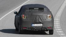 Suzuki Baleno five-door hatchback prototype spied