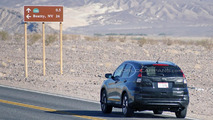 2016 Honda CR-V facelift spied hot weather testing in Death Valley