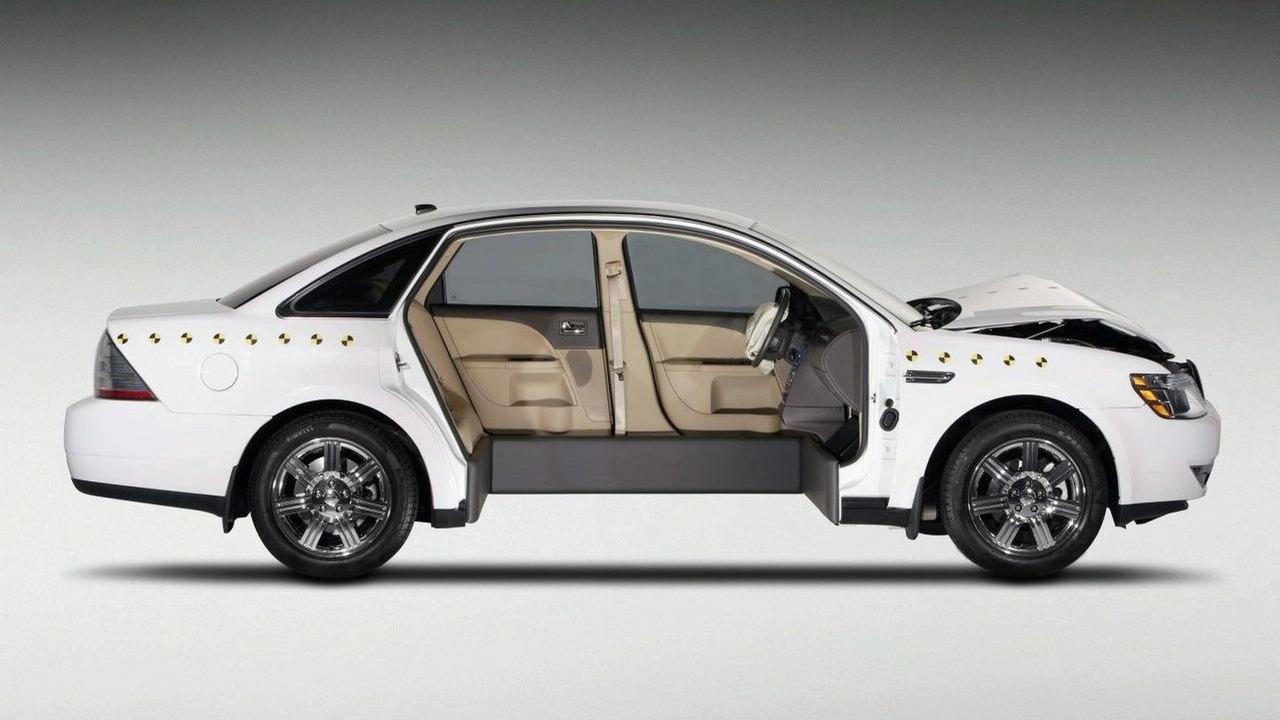 Crash Tested Ford Taurus