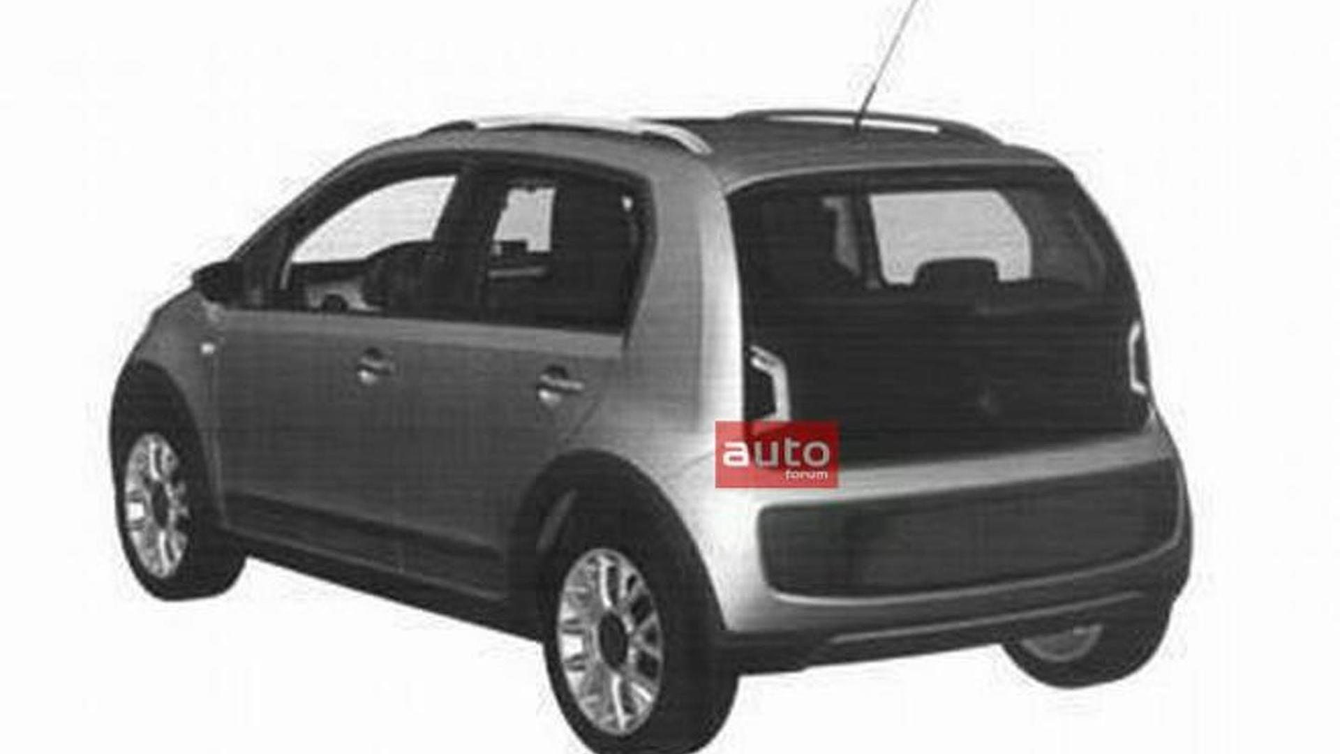 Volkswagen Up! five-door leaked