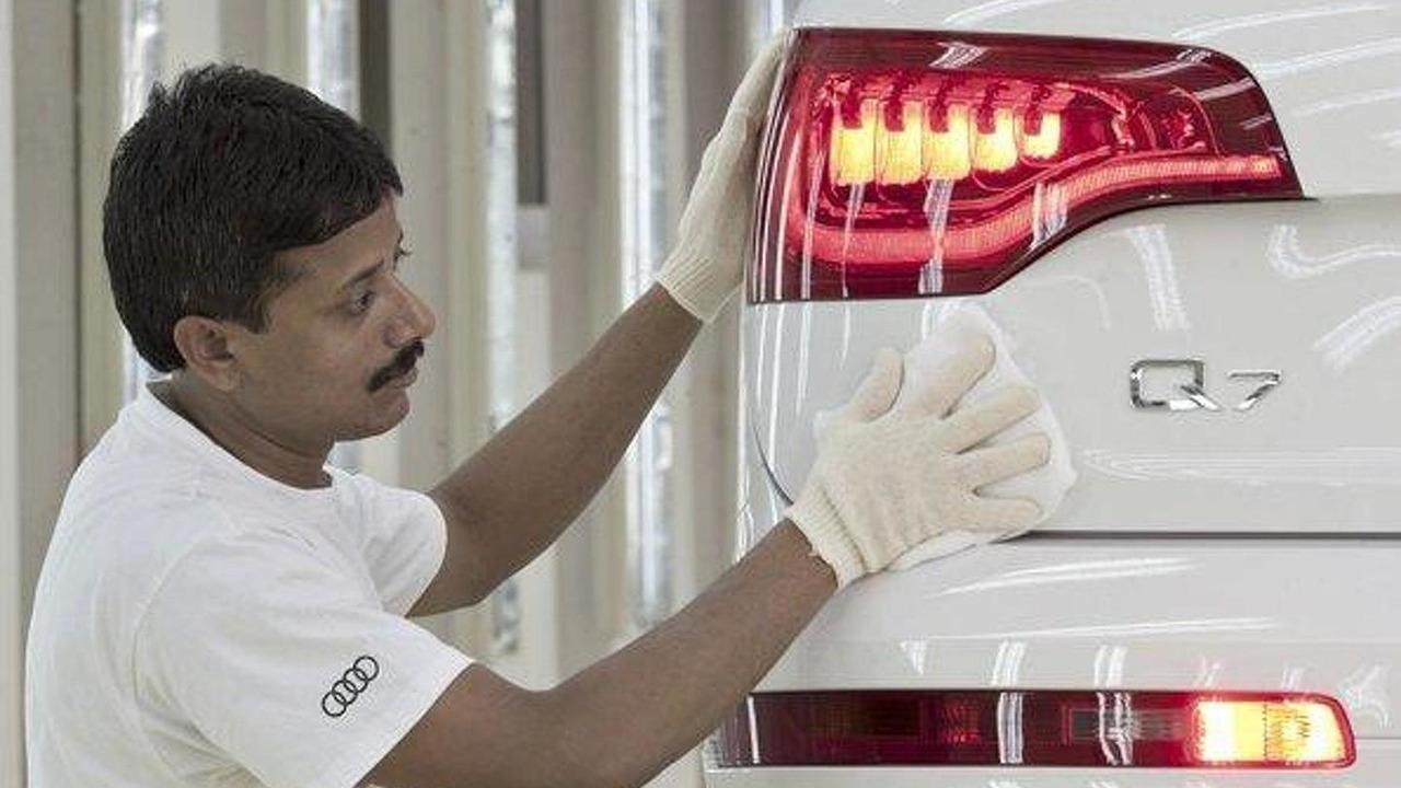 Audi Q7 Made In India