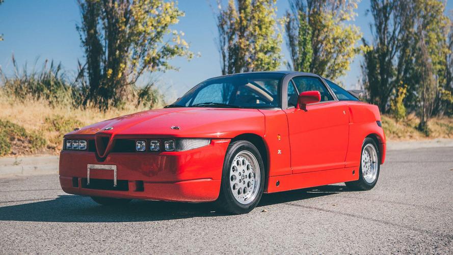 1991 Alfa Romeo SZ eBay find is undoubtedly unique