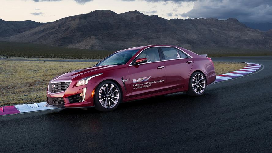 2017 Cadillac ATS-V, CTS-V buyers get V-Performance Academy training