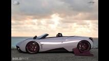 Pagani Huayra Roadster Concept by Aldo Maria Sica