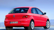 VW Polo V Rendering and New Seat Ibiza Spy Photo