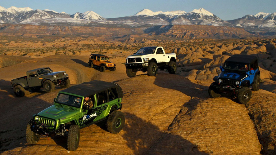 Chrysler Reveals Moparized Jeep and Ram Trucks at Moab Easter Jeep Safari