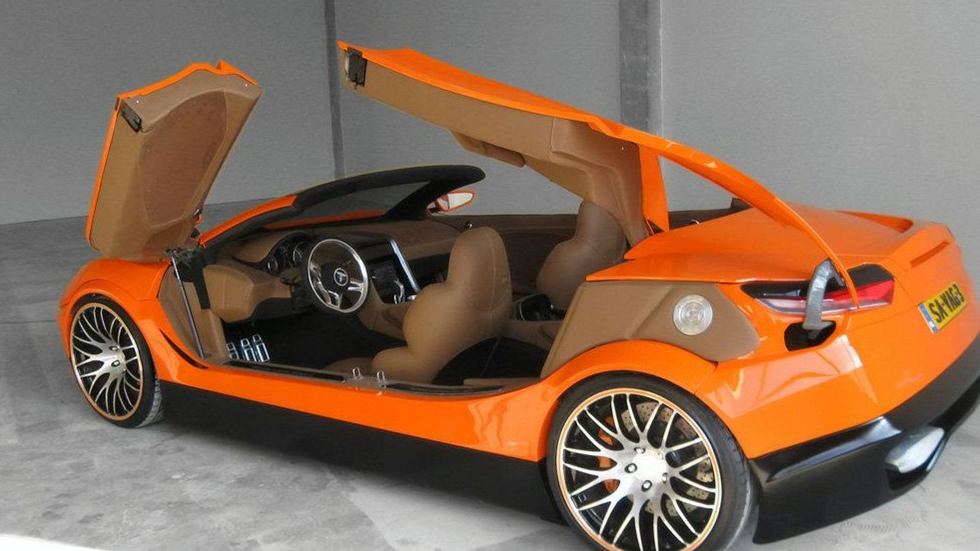 Savage Rivale Roadyacht GTS - four door convertible supercar