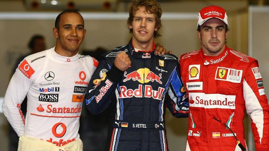 2010 Abu Dhabi Grand Prix QUALIFYING - RESULTS