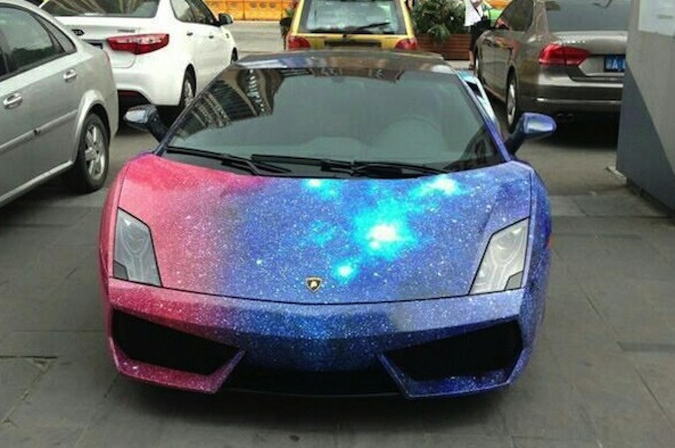 This Lamborghini Gallardo is Out of this World