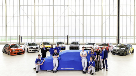 VW apprentices tease one-of-a-kind Golf GTI
