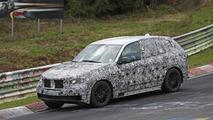 2018 BMW X5 spied on the Nürburgring