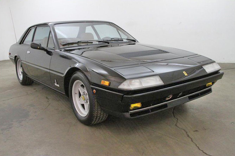 John McEnroe's Ferrari for Sale on eBay