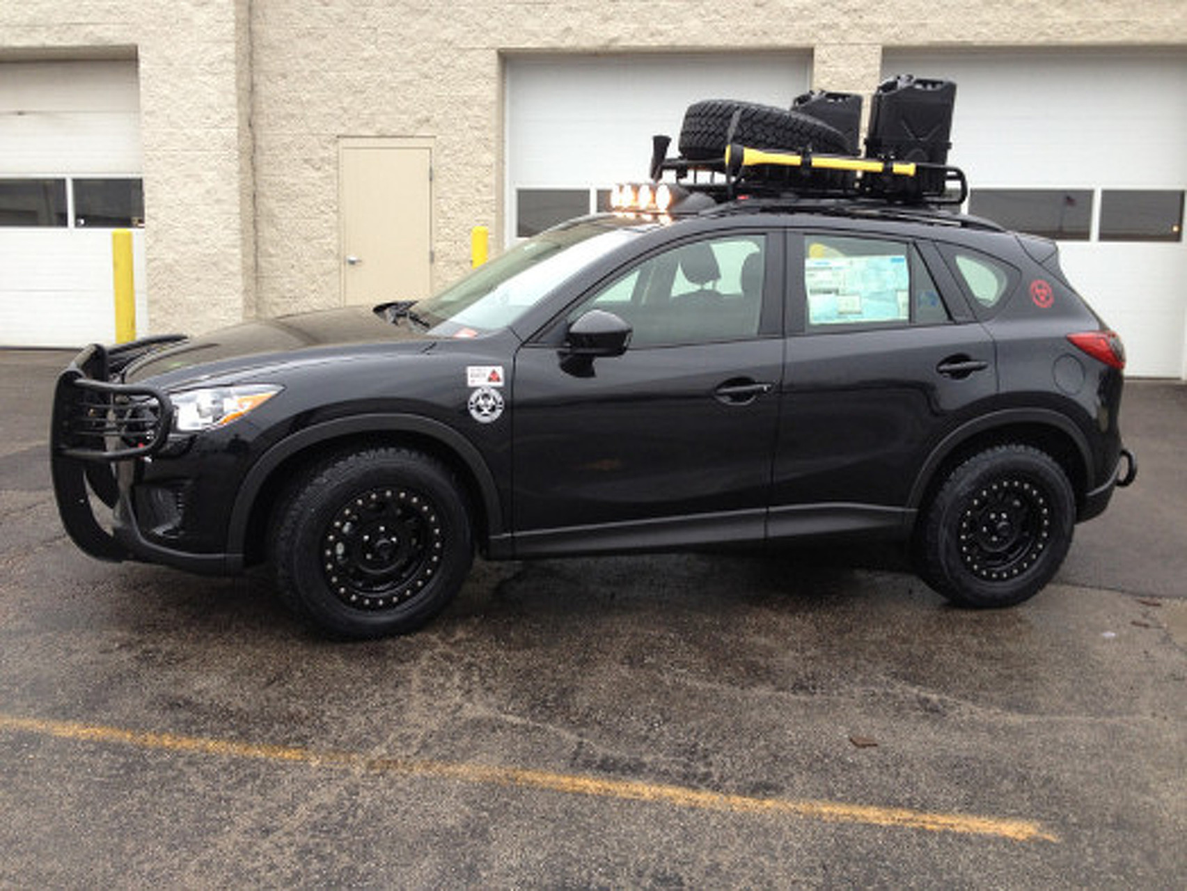 Apocalypse Ready: 2013 Mazda CX-5 Zombie Apocalypse Edition