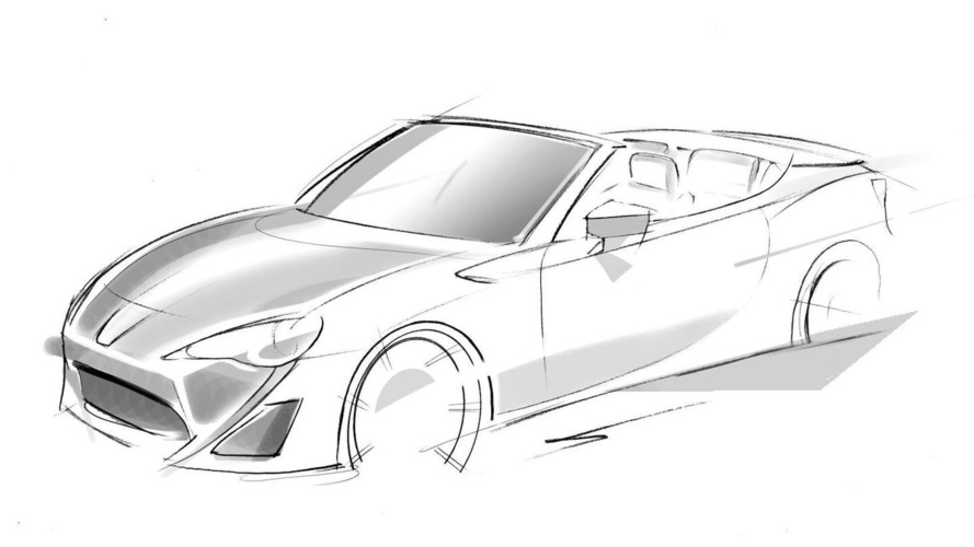 Toyota GT 86 convertible concept confirmed for Geneva debut